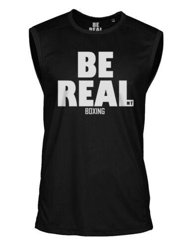 Be Real Mike Tyson Sleeveless Shirt Champion Sports Jersey Jersey
