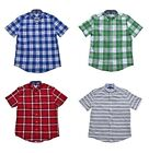 NEW Tommy Hilfiger Men's Short Sleeve Classic Fit Button-Down Shirt - VARIETY