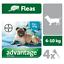 ADVANTAGE-40-100-250-400-Chiens-4-Pipettes-Anti-Puces-Fleas-treatment miniature 4
