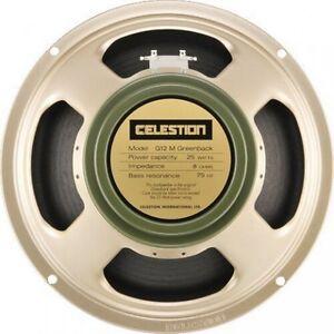Celestion-G12M-Greenback-12-034-25W-16-Ohm-NEU-amp-OVP-T1221-Gitarrenlautsprecher-3JA