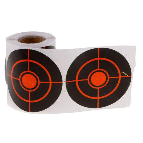 "3/"" Adhesive Paper Targets 100pcs Shooting Targets Reactive Splatter Dia"