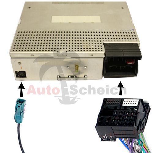 BM24 auf BM54 Bord Monitor Radio Navi Adapter Kabel für BMW E39 X5 E38 E46 Aux