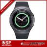 Samsung-Gear-S2-42mm-Black-Stainless-Steel-Case-SM-R720- GRAY