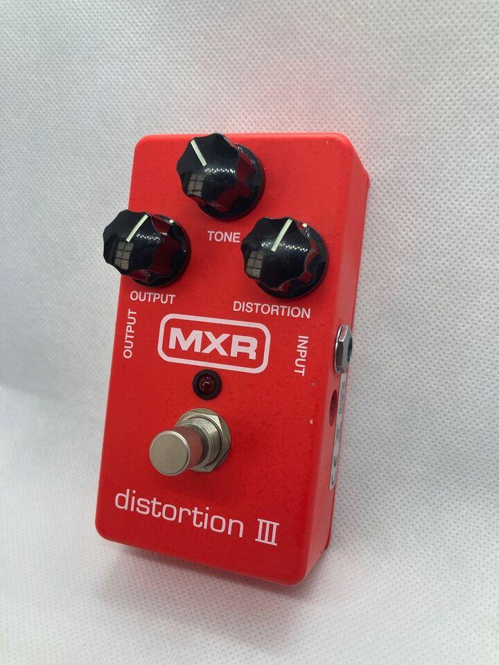 Distortion, MXR Distortion III, M115