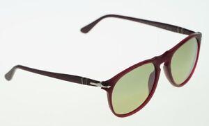 f02cfad8ab Image is loading POLARIZED-PERSOL-Photochromic-Granato-Aviator-Sunglasses -PO-9649S-
