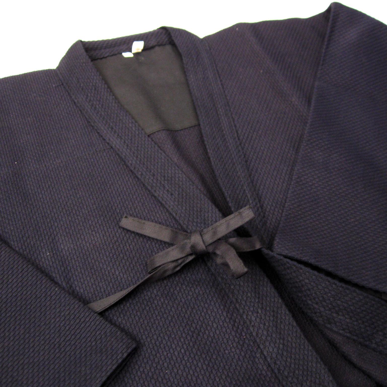 Kendo Aikido Iaido Gi Uniforms Navy bluee