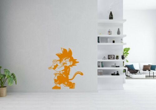 Kid Goku Inspired Design Anime Dragon Ball Wall Art Decal Vinyl Sticker