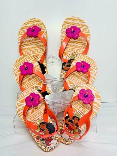 Disney Moana /& tapa Flip Flops pour enfants Choisissez Taille Orange Neuf avec étiquettes