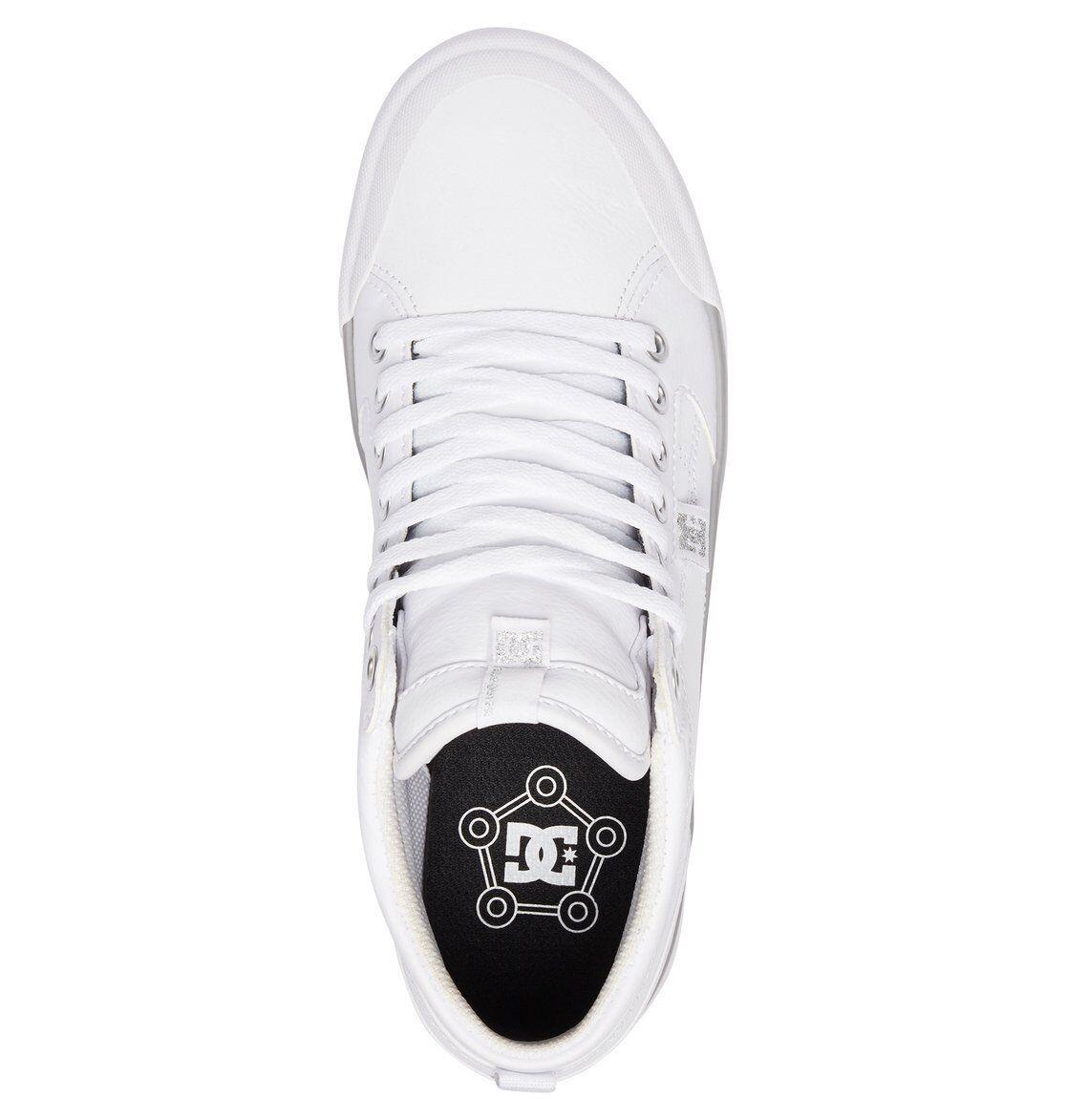 DC Schuhe Damenschuhe HI TOP TRAINERS.NEW LEATHER EVAN SMITH HI Weiß LEATHER TRAINERS.NEW Schuhe 7W 147 WS4 428d05