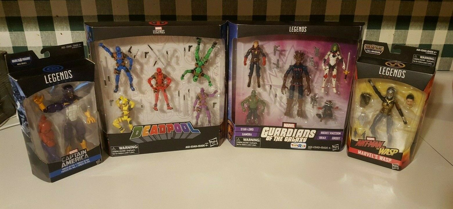 Marvel Legends Lot of 14 Figures - NEW SEALED
