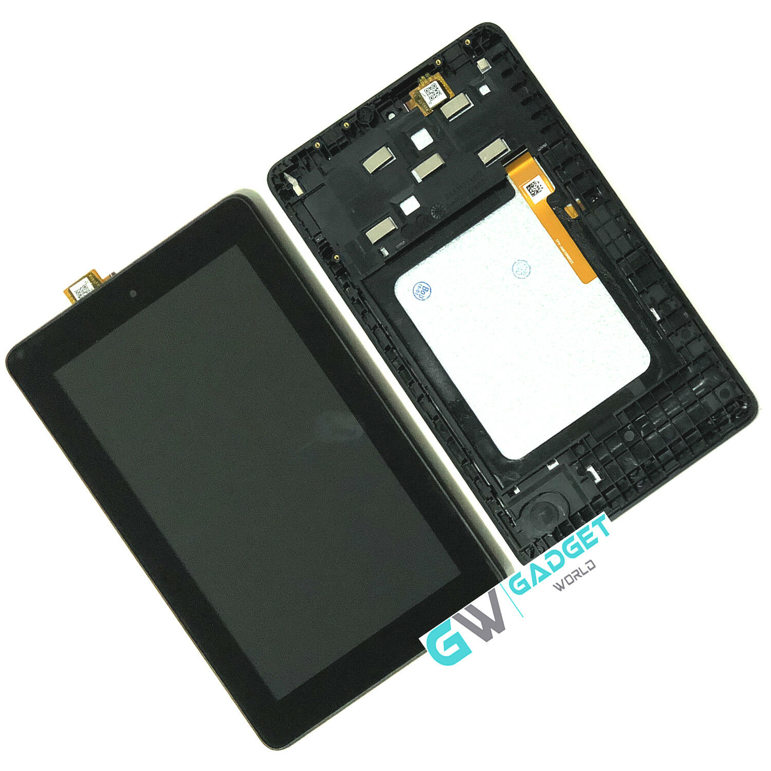 Amazon Kindle Fire 7 5th 2015 SV98LN LCD Touch Screen Digitizer Frame Assembly