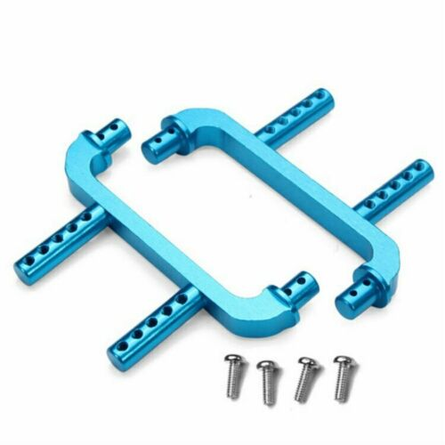 Supports Replacement for Wltoys 1:18 A959 A979 A969 Blue METAL RC Body Post