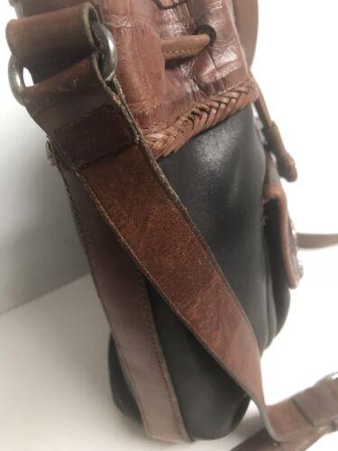 brw Authentic Black Shoulder Brighton owned Baghandbagpurse Pre Leather vON08mwn