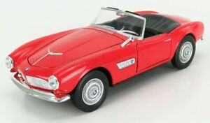 WELLY 1/24 BMW   507 CABRIOLET OPEN 1956   RED