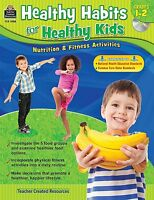 Healthy Habits For Healthy Kids Grade 1-2 Nutrition Fitness Cd & Paperback