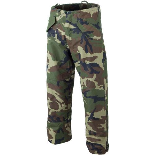 Mil-Tec Wet Weather Waterproof Hunting Trousers Hiking Nylon Army Pants Woodland