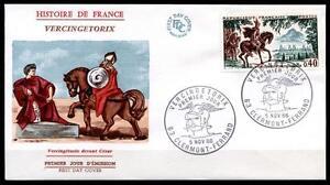 Alerte Vercingétorix-chef Des Arverner. Fdc. France 1966-afficher Le Titre D'origine Lissage De La Circulation Et Des Douleurs D'ArrêT