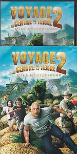 DVD-ZONE-2-AVEC-FOURREAU-VOYAGE-AU-CENTRE-DE-LA-TERRE-2-L-039-ILE-MYSTERIEUSE-2012