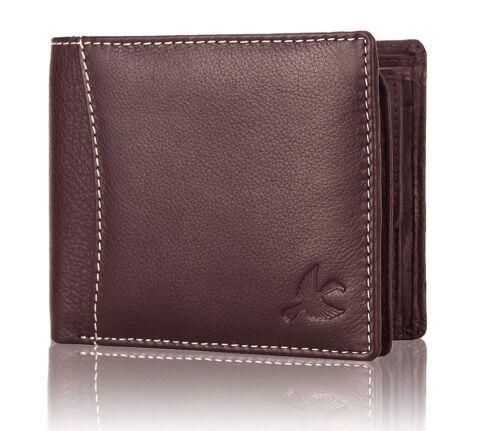 Hornbull Marron Homme Portefeuille en Cuir Premium RFID Protection Cadeau Votre Être Cher