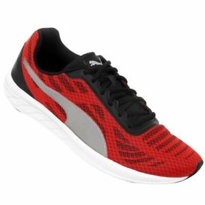 NEW-Men-s-Sneakers-PUMA-METEOR-Running-Shoes-Red-Size-9