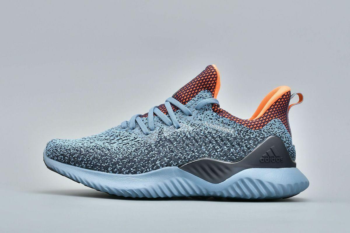 Adidas ALPHABOUNCE BEYOND AQ0574 New Mens Running shoes bluee