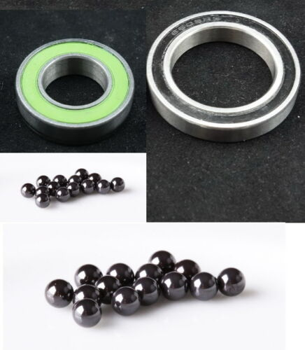 for TUNE Cannonball 2pc Total Ceramic Bearing Kit Lefty HUB-FIT Cannondale SL
