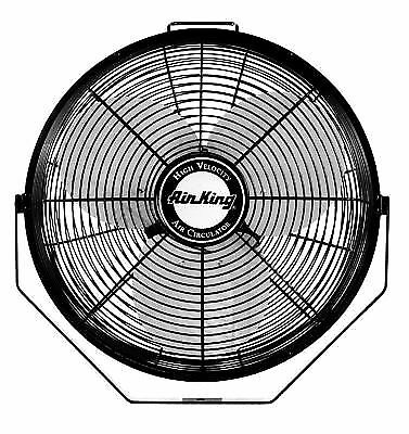 Buy Air King 9312 Powder Coated Steel Multi Mount Wall Fan Black