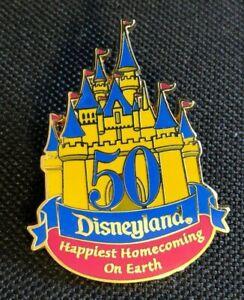 disney pin 50 golden anniversary disneyland vintage ...