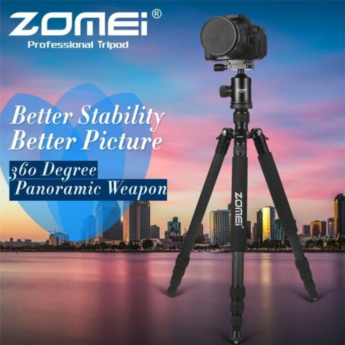 1 of 1 - ZOMEI Z818C Carbon Fiber professional Camera Tripod Monopod Ball Head for DSLR
