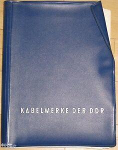 Veb Kabelwerk Vacha Sammlung Von 58 Prospekten Typenblättern Hf