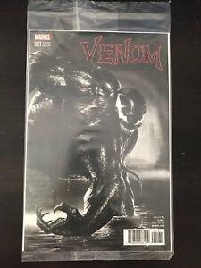 Venom-1-B-amp-W-Dell-039-Otto-Variant-Cover-NM-9-4-Unread-Polybag