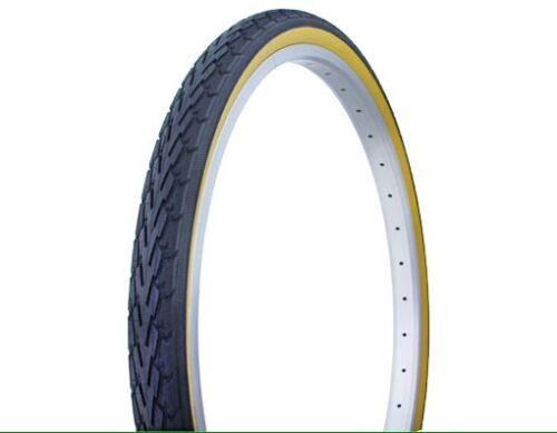 26x1.75 Black Gumwall Bicycle Tires 2xTires