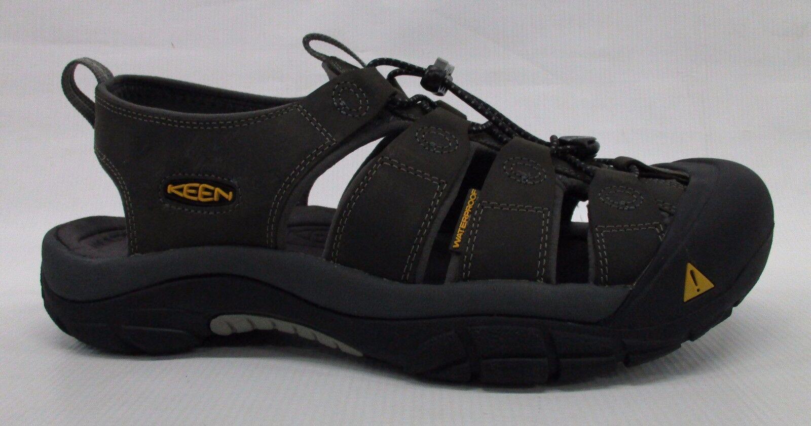 Keen Mens Newport Sandals 1010122 Neutral Grey/Gargoyle Size 12