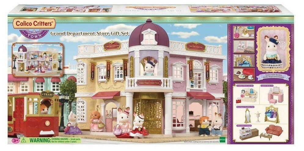 Calico CRITTERS grand magasin Ensemble eau Kids Play CC3011 NEUF