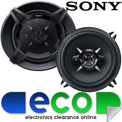 Peugeot 206 1998-2014 SONY 13cm 5.25 Inch 480 Watts 3 Way Rear Side Car Speakers