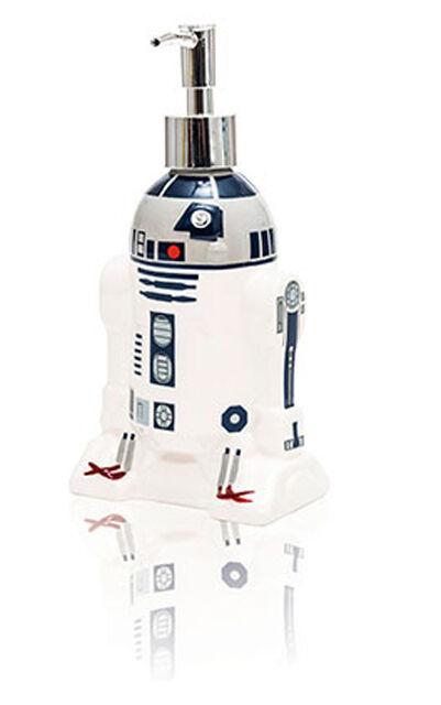 STAR WARS VII R2D2 R2-D2 R2-D2 DROID DISPENSER FOR KITCHEN BATHROOM SAPONE SOAP