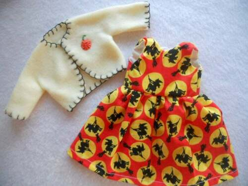 """Halloween W Doll Dress /& Coat For 8/"""" Vogue Ginny"""