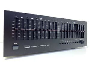 SANSUI-SE-7-Stereo-Graphic-Equalizer-Vintage-1979-High-End-Working-100-Like-New