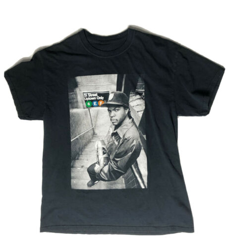 Vintage  Ice Cube T-Shirt Black Size Large