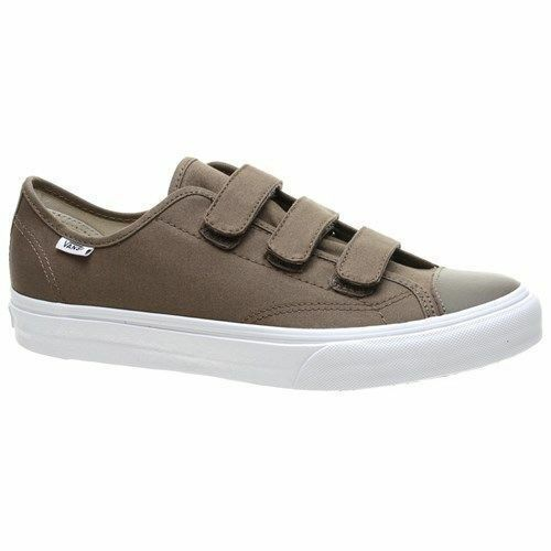 Vans shoes Canvas With Straps Walnut True White Style 23 V New In Box