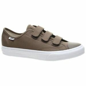 Vans-Shoes-Canvas-With-Straps-Walnut-True-White-Style-23-V-New-In-Box