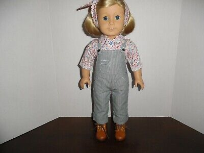 American Girl Kits Gardening Outfit for 18 Dolls Doll Not Included /…