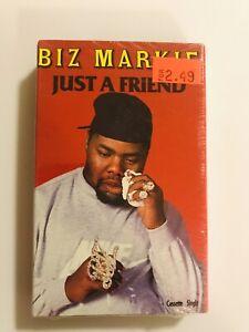 BIZ-MARKIE-Just-A-Friend-1989-CASSETTE-SINGLE-New-SEALED-Cold-Chillin-LL-Cool-J