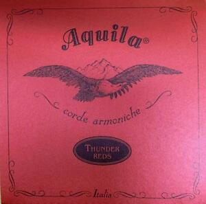 aquila thunder red bass ukulele strings ubass 4 string set 91u ebay. Black Bedroom Furniture Sets. Home Design Ideas