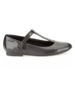 Erica Lola Girls Clarks T-Bar Shoes