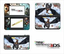 SKIN STICKER AUTOCOLLANT - NINTENDO NEW 3DS - REF 199 DRAGON