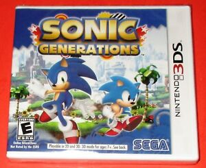 Details about Sonic Generations Nintendo 3DS *New! *Factory Sealed! *Free  Shipping!