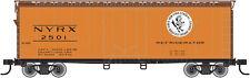 NY CENTRAL RR (EARLY BIRD LOGO) 40' PLUG DOOR BOXCAR BY ATLAS TRAINMAN-EXCELLENT