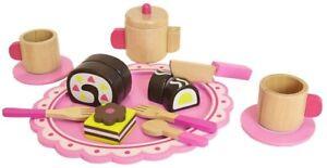 Tooky Bois Toychildrens Afternoon Thé Jeux de Rôle Nourriture Set & Accessoires