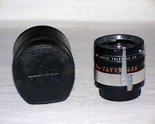 Vtg 1970's Minolta MC Mount Kenko MT Auto Teleplus 3X Converter Film Camera Lens